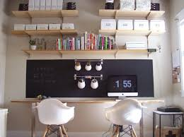 S Office With Chalkboard