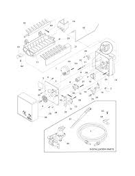 Sophisticated frigidaire ice maker parts diagram pictures best