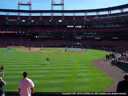 Busch Stadium View From Left Field Box 171 Vivid Seats