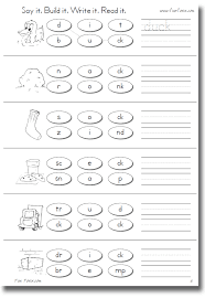 When a single short vowel word ends the first is a ck rule words worksheet in which the child can read the words ending with ck and highlight. Fun Fonix Book 2 Consonant Digraph Worksheets