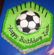 How To Decorate A Soccer Ball Cake Coolest Soccer Cake Ideas to Make Awesome Soccer Cakes 53