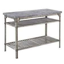 ampamp prep table: home styles urban style prep table with concrete top amp reviews wayfair