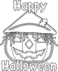 Small Picture Halloween Coloring Book Pages445252
