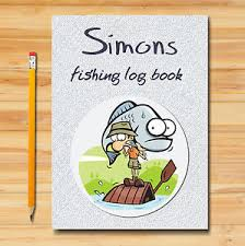 image is loading personalised a5 fishing log book diary fish journal