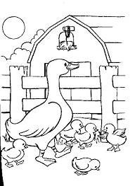 barb animal coloring pages