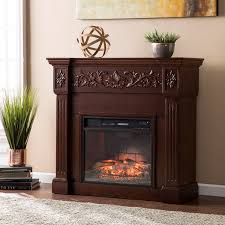 calvert carved infrared electric fireplace espresso previous built ins dual control blanket extra large led candles