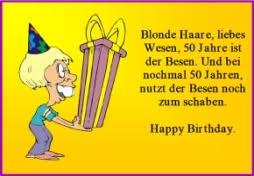 Sprüche Zum 50 Geburtstag Lustig Kostenlos More Plusfr