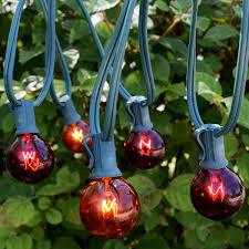 Red Globe String Lights