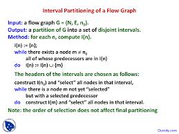 Dag Compiler Design Interval Partitioning Of Flow Graph Advanced Compiler