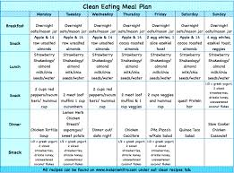 clean eating meal plan p90x3