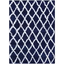 couristan urban temara navy blue white 4 ft x 5 ft area