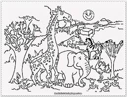 Download Free Coloring Pages Zoo Getwallpapersus
