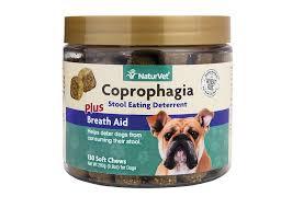 NaturVet <b>Coprophagia Stool Eating Deterrent</b> Plus Breath Aid Dog ...