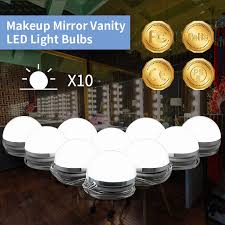 lighting for vanity makeup table. Makeup Mirror Light Vanity LED Bulbs Decoration Wall Lamps Dimmable Touch Switch Kit For Dressing Table Lighting