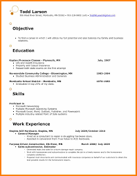 Business Administration Objective Resume Example Camelotarticles Com