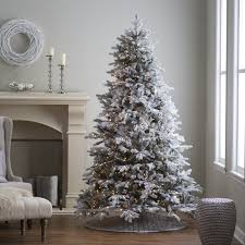 Grey Christmas Tree 3 Foot Pre Lit Artificial Christmas Trees Home Decorating