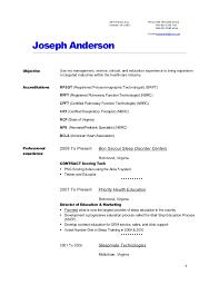 Entry Level Respiratory Therapist Resume Best Respiratory Therapy Resume Cover Letter Samples Cover Letter Samples