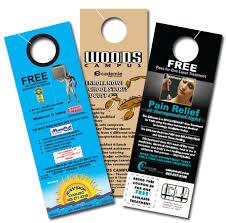 Image result for cheap door hangers advertising