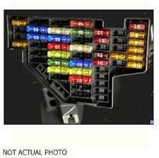 2007 saturn aura fuse box oem fuse box used 2007 saturn aura fuse box not actual picture