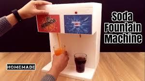 how to make a soda fountain machine at home homemade