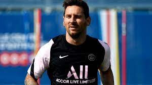 Is Lionel Messi playing for PSG today ...