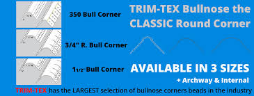 bullnose corner bead