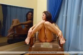 Julie Nude in Back Home at Femjoy Hunter