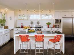 Bright White Mid Century Modern Kitchen