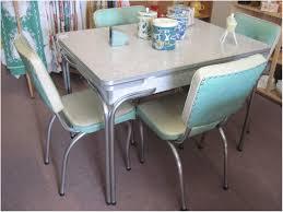 Retro Kitchen Furniture Kitchen Retro Chrome Kitchen Table Sets Image Of Kitchen Table