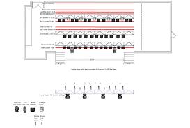 Arcada Seating Chart Arcada Lighting Plot 11 2015 Arcada Theatre