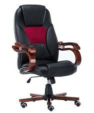 leather swivel office chair. foxhunter computer executive office chair pu leather swivel high back oc02 black