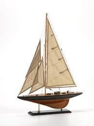 Model Sailboat Design Small Wooden Model Sailboat Default Title Carlyle Avenue