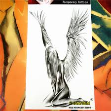 Shnapign Andělská Křídla Dočasné Tetování Body Art 1220 Cm Flash