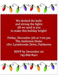 Therefore, we hope this funny christmas party invitation wording will give you an extra some ideas to produce your personal celebration invitation! Christmas Lights Holiday Party Invitation 5x7 Set Of 20 By Blessexpre Funny Christmas Party Invitations Christmas Party Invitations Holiday Party Invitations