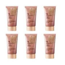 welcos no makeup face blemish balm spf30 pa whitening 50ml 6กล อง