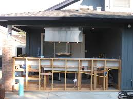 Outdoor Kitchen Ventilation Interior Long Stainless Vent Hood Industrial In An Industrial