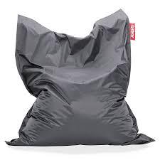 modern bean bag furniture. Fatboy Dark Gray Original Modern Bean Bag Chair Furniture R
