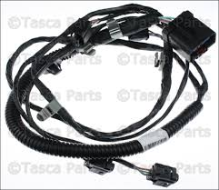 new oem mopar rear park assist wiring harness 2005 2009 jeep grand 2006 jeep wrangler engine wiring harness at Jeep Oem Wiring Harness