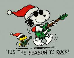 tis the season to rock! | Christmas | Pinterest | Snoopy ...