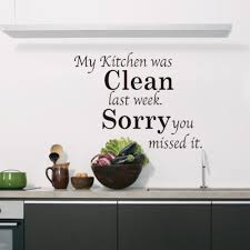 Kitchen Wall Winsome Kitchen Quote Wall Decals Kitchen Italian Kitchen Decal