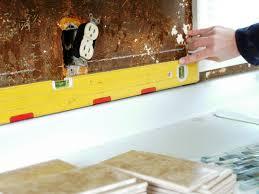 How To Do A Kitchen Backsplash How To Install A Tile Backsplash How Tos Diy
