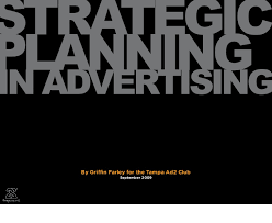 Advertising Plan Pdf Strategic Planning In Advertising