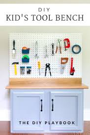 Step-by-Step Tutorial For Creating a DIY Kid's Tool Bench