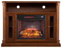 boston loft furnishings piperton infrared electric fireplace media stand