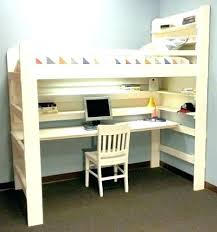 bunk bed with desk and couch. Loft Beds With Couch And Desk Bunk Desks Under Them Convertible Double . Bed N