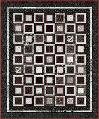 Black And White Quilt Patterns Custom 48 Beautiful Black And White Quilt Patterns