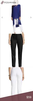So Slimming By Chico S Size Chart So Slimming Audrey Ankle Pants In Black By Chicos Please