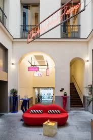 Axel Design The Axel Hotel Madrid Achieves Character Through Color