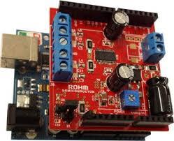 ROHM Stepper <b>Motor</b> Driver <b>Shield for</b> Arduino Platform | ROHM ...