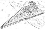 Раскраски корабли звездные войны